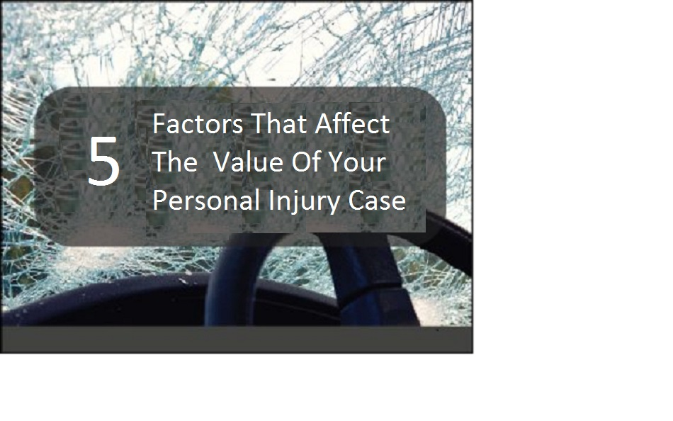 Factors That Affect Your Personal Injury Case